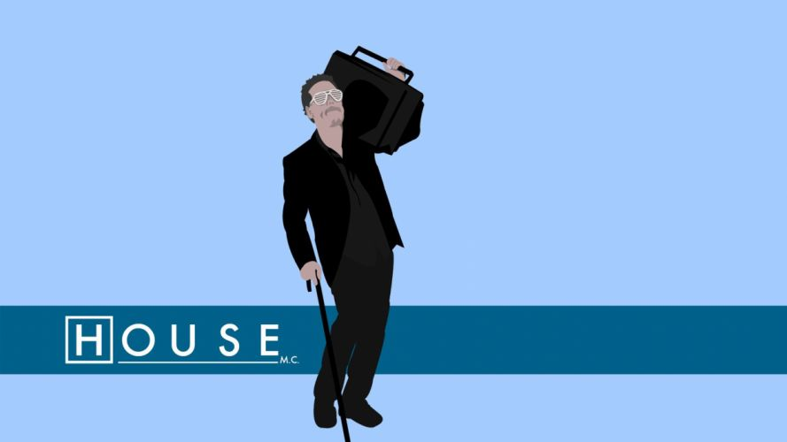 Gregory House House M_D_ wallpaper