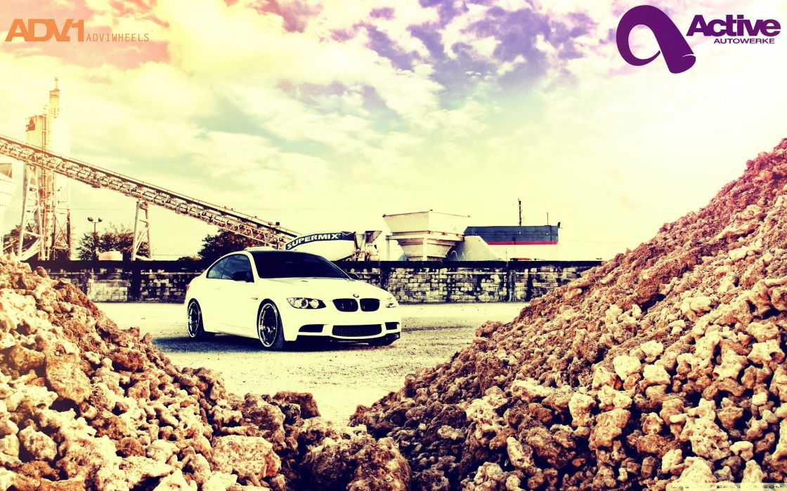 cars BMW M3 supercharged ADV 1 wallpaper