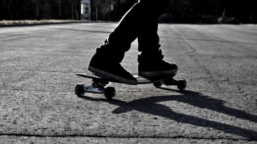 black and white skateboarding monochrome skates wallpaper