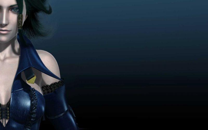women models artwork Bullet Witch black hair wallpaper