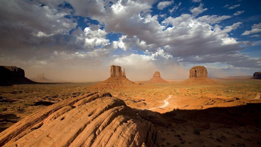 deserts USA Monument Valley wallpaper
