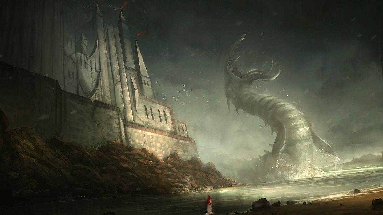 monsters artwork wallpaper
