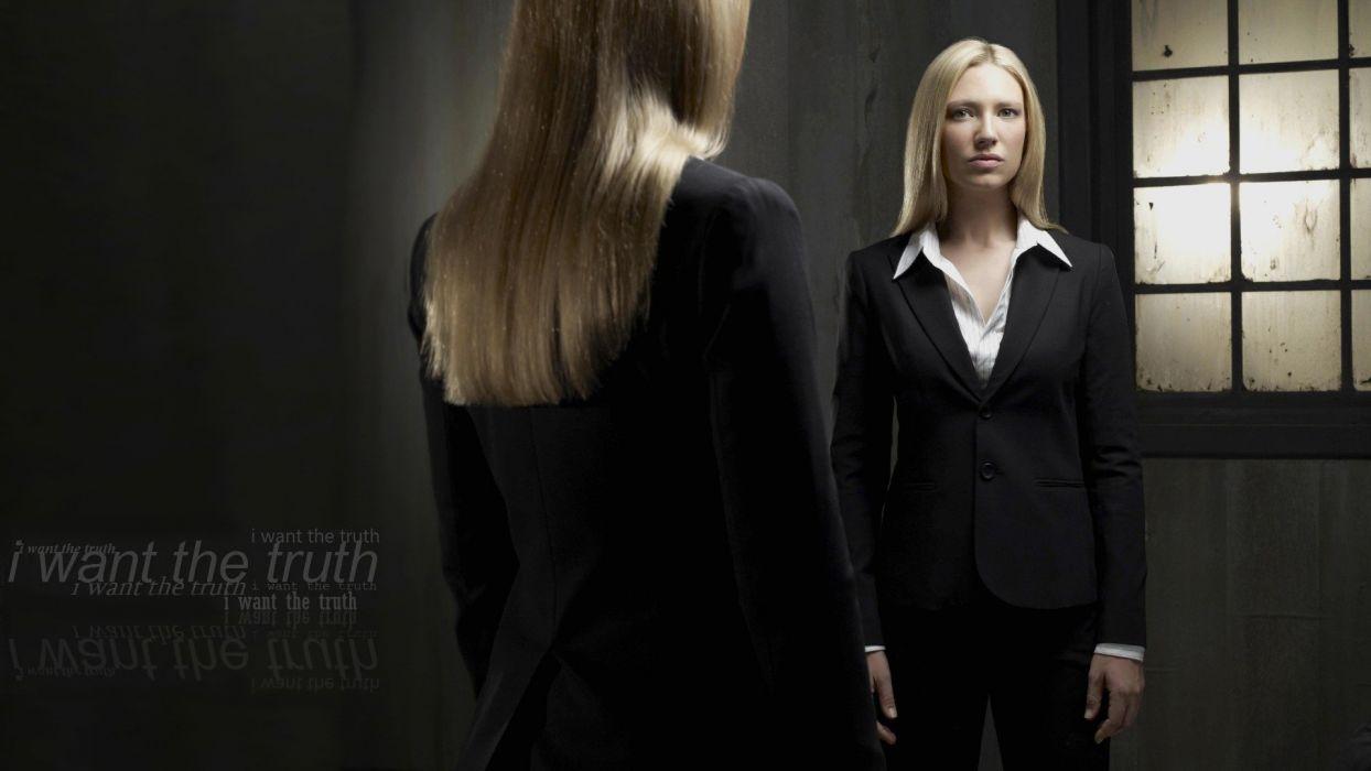 blondes women Fringe Anna Torv Olivia Dunham wallpaper