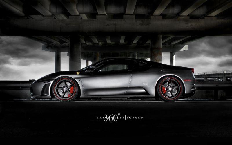 cars gray Ferrari vehicles wallpaper