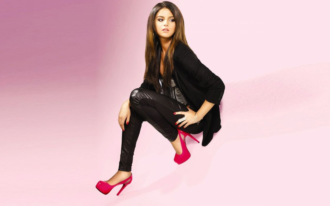 women Selena Gomez actress celebrity high heels singers casual clothing artist wallpaper