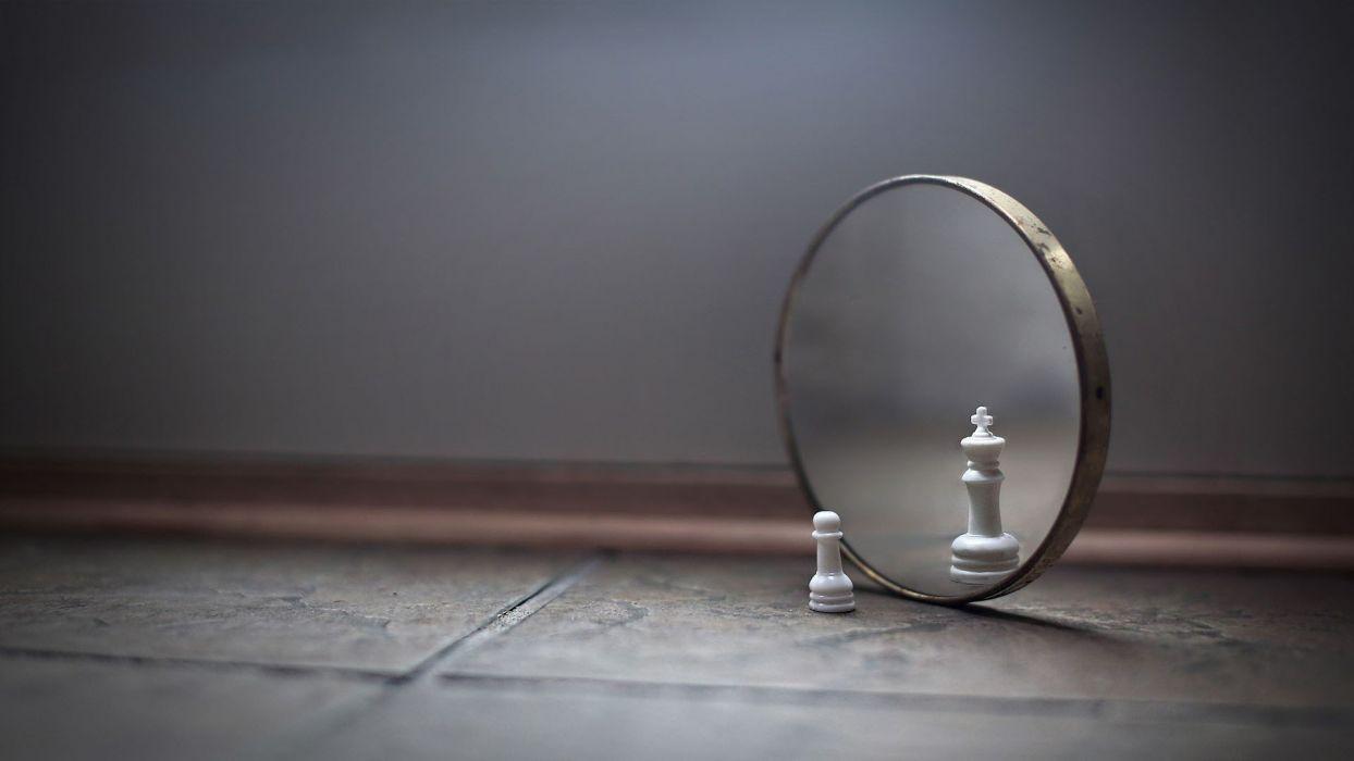floor mirrors chess funny joke wallpaper