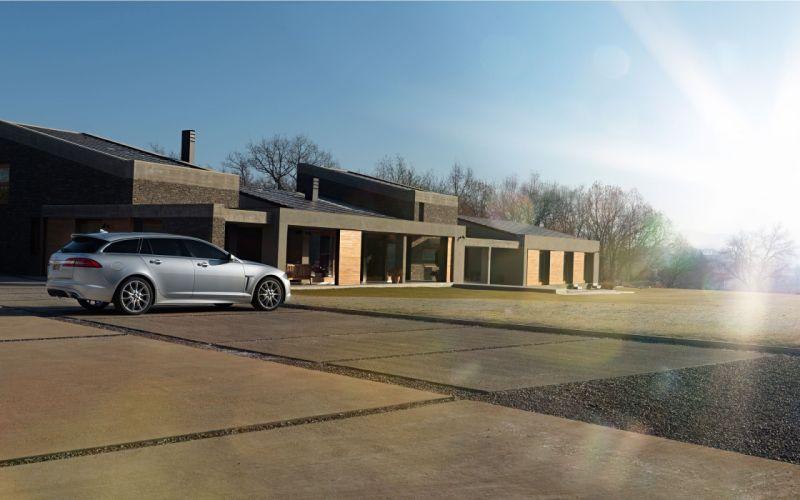 cars Jaguar jag vehicles Jaguar XF Sportbrake wallpaper
