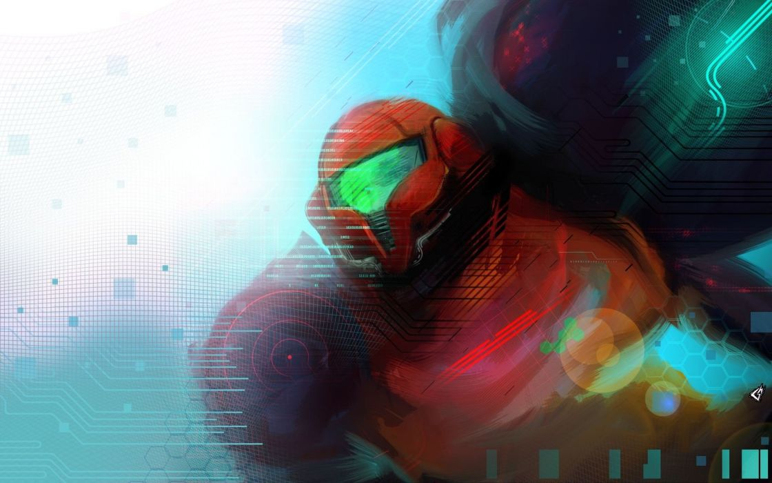 video games Samus Aran Metroid Prime wallpaper