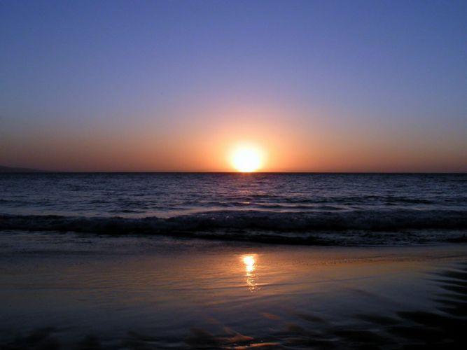 sunrise landscapes nature beaches wallpaper