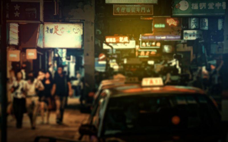 urban Hong Kong cities wallpaper