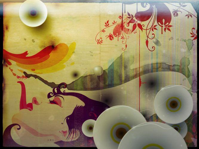 fantasy multicolor wallpaper