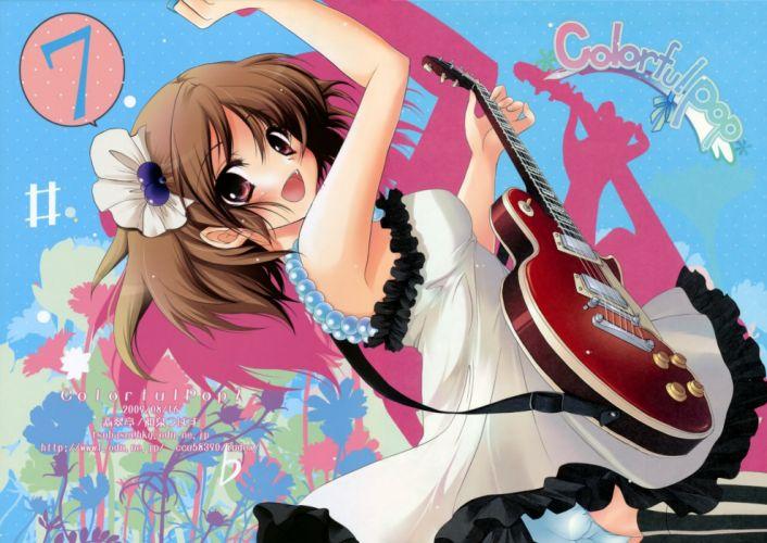 K-ON! Hirasawa Yui anime girls wallpaper