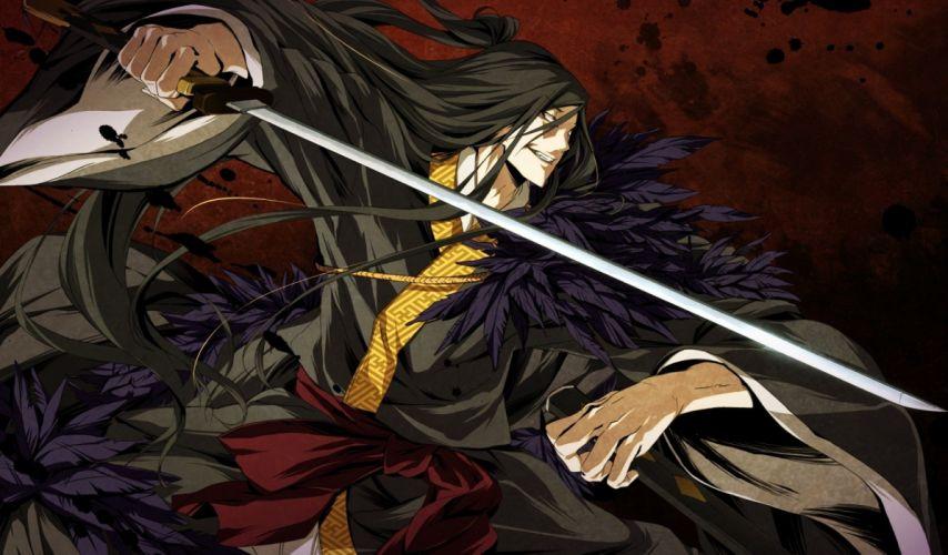 weapons swords Kajiri Kamui Kagura wallpaper