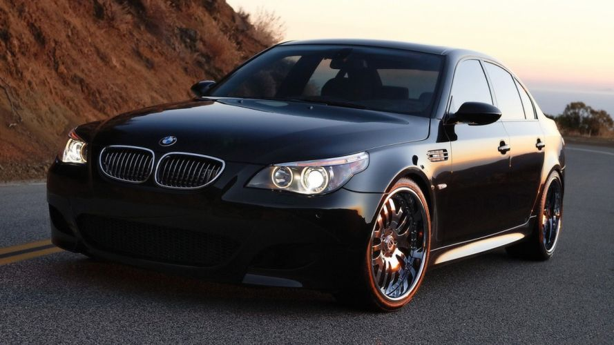 BMW cars vehicles wheels BMW E60 automobiles wallpaper
