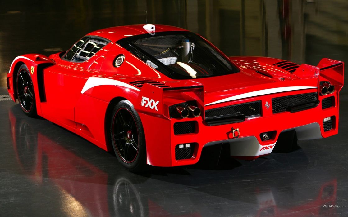 cars Ferrari Ferrari FXX Mitsubishi Evo wallpaper