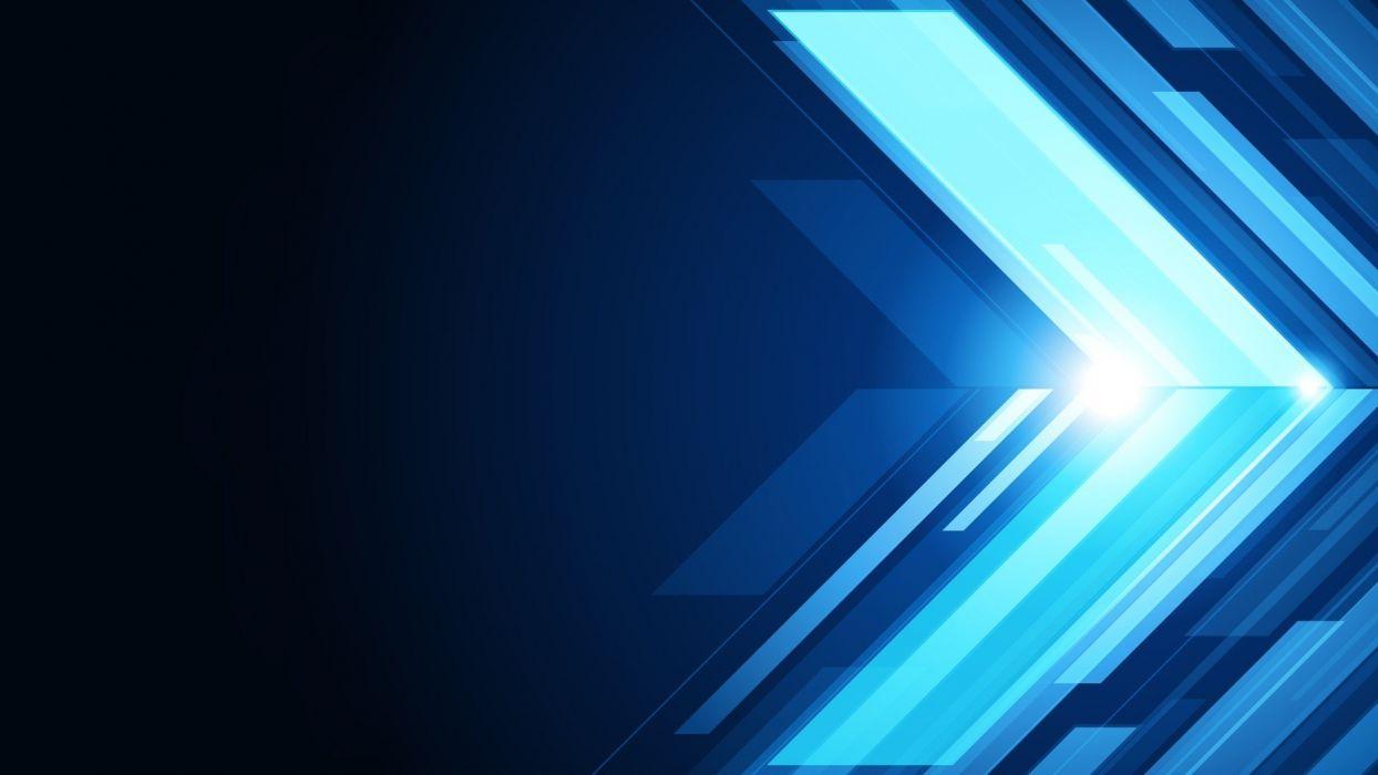 blue vectors artwork arrows wallpaper