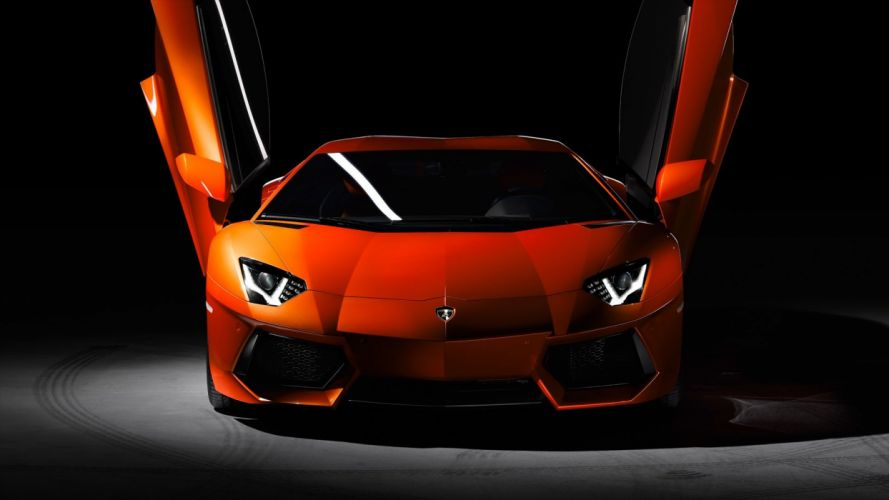 cars Lamborghini Aventador red cars wallpaper