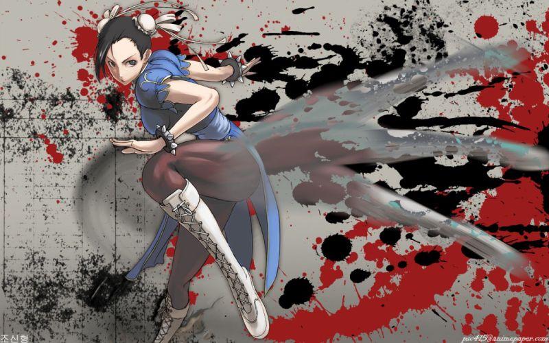 Street Fighter Chun-Li wallpaper