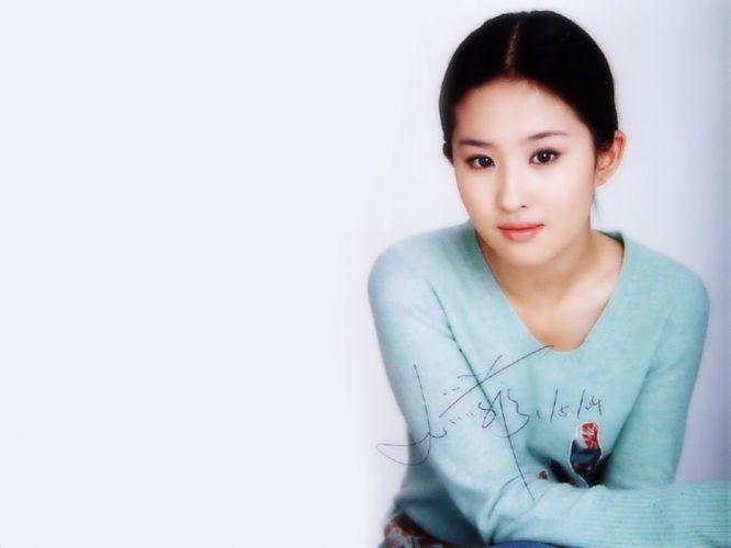 women China Asians liu yi fei wallpaper
