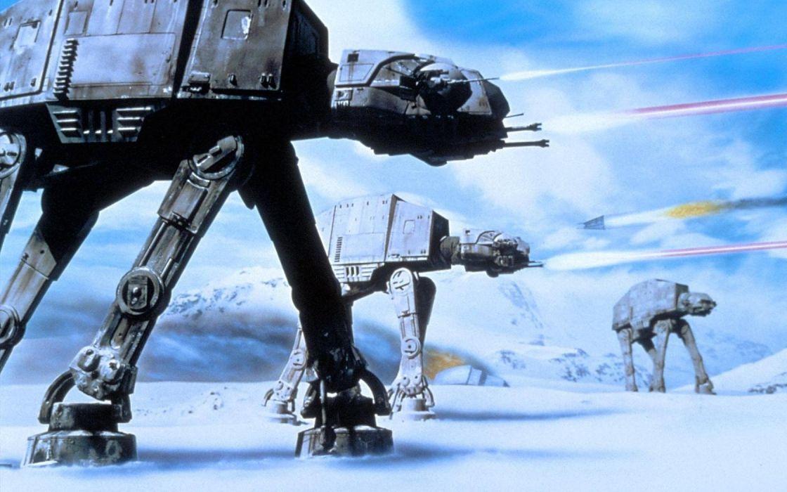 Star Wars AT-AT science fiction wallpaper