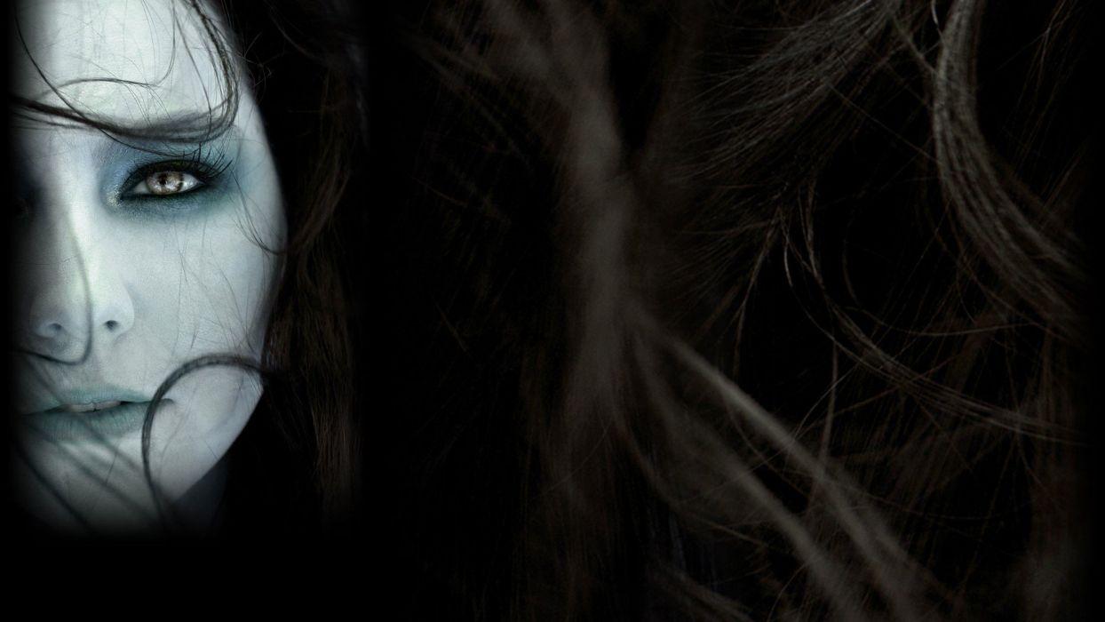Amy Lee faces wallpaper