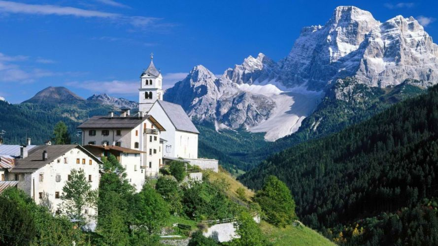 Italy Alps wallpaper