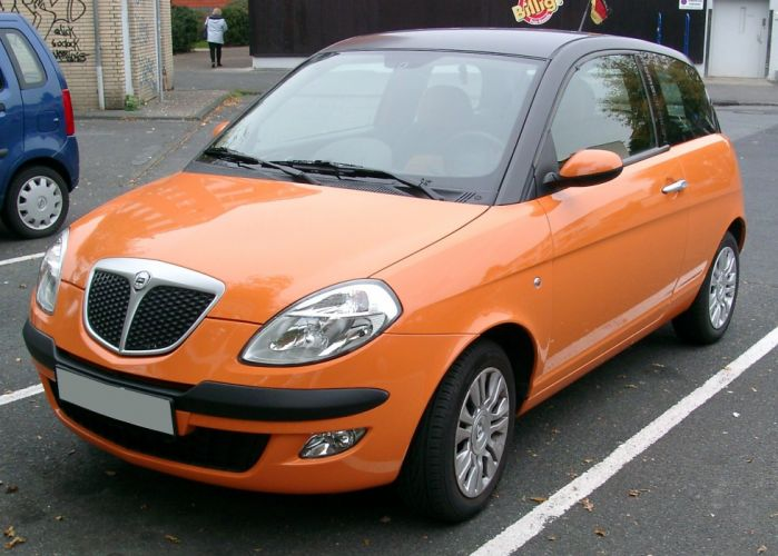 Lancia Ypsilon front 20071002 wallpaper