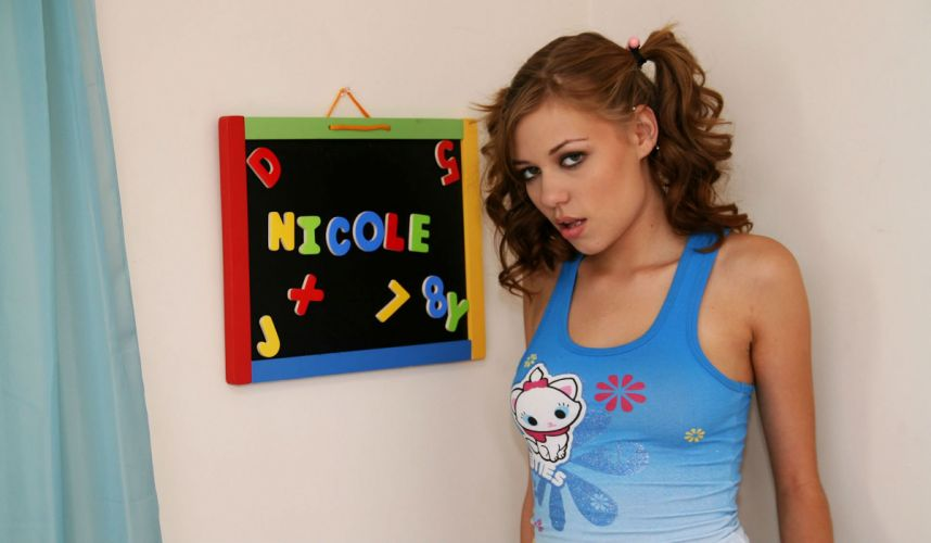 NICOLE adult sexy babe (11) wallpaper