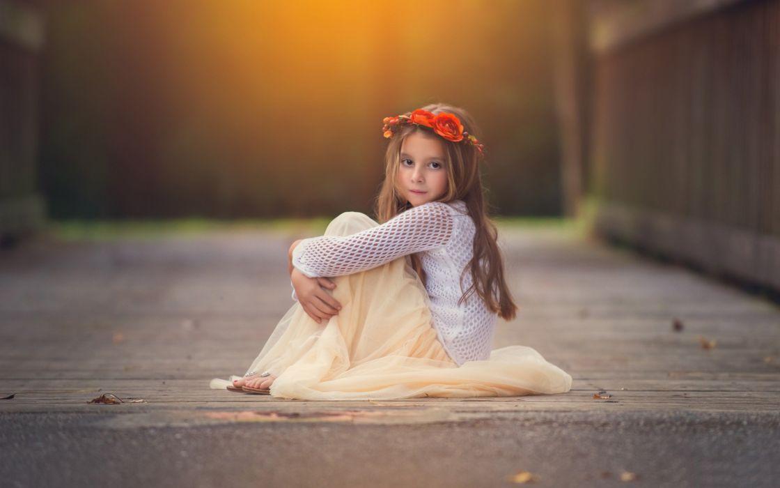 soft child kids girl mood wallpaper