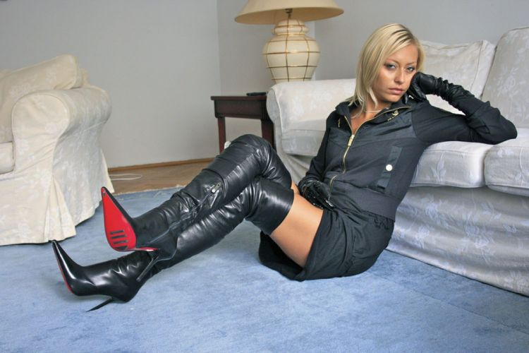leather boots legs sexy babe adult i wallpaper