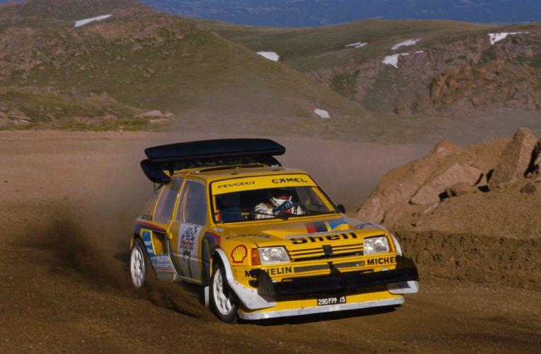 1987 Peugeot 205T16PikesPeak-0-1536 wallpaper