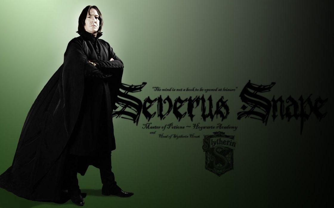 Harry Potter Alan Rickman Severus Snape Wallpaper 1440x900 315913 Wallpaperup