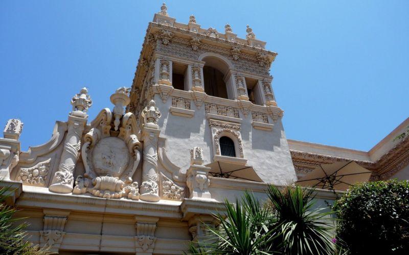 USA California San Diego museum parks wallpaper