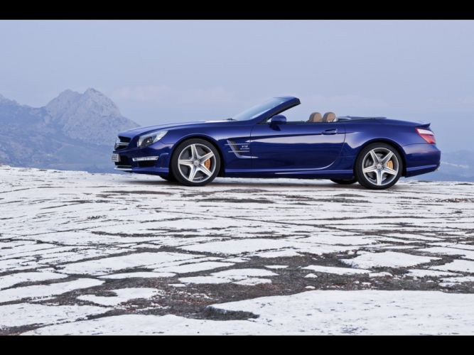 cars AMG static Mercedes-Benz Mercedes-Benz SL-Class wallpaper
