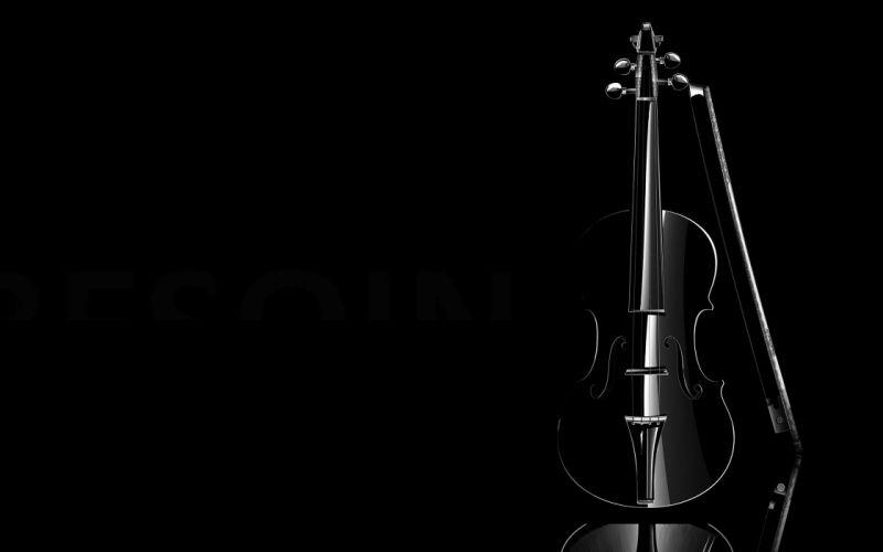 black violins wallpaper