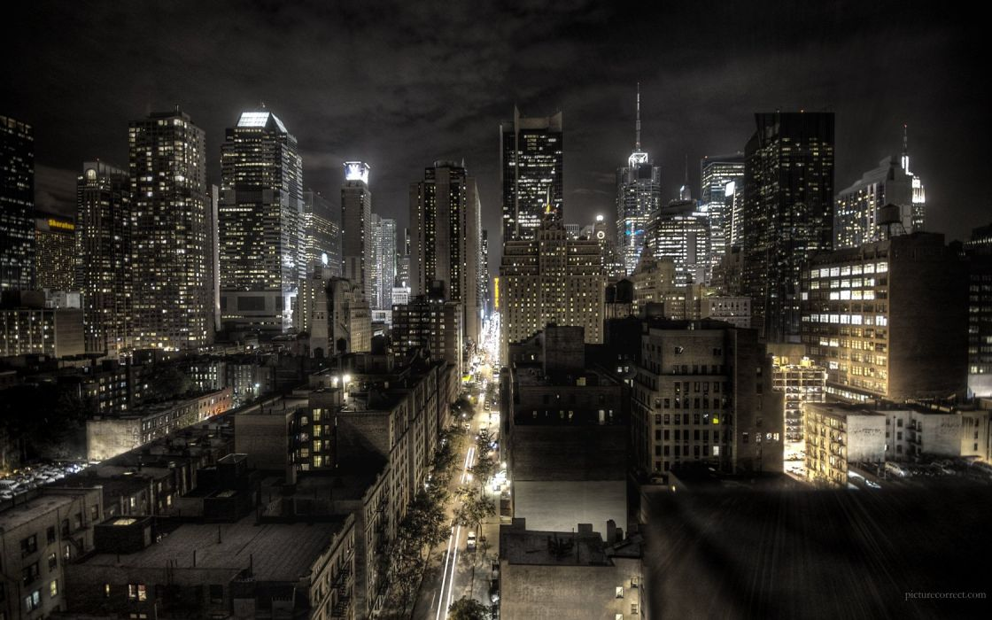 cityscapes city lights wallpaper