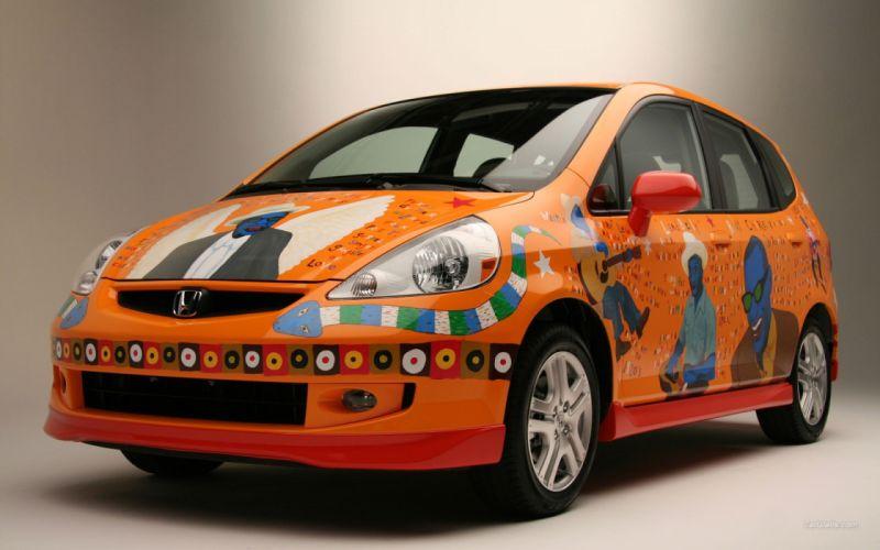 cars Honda Fit wallpaper