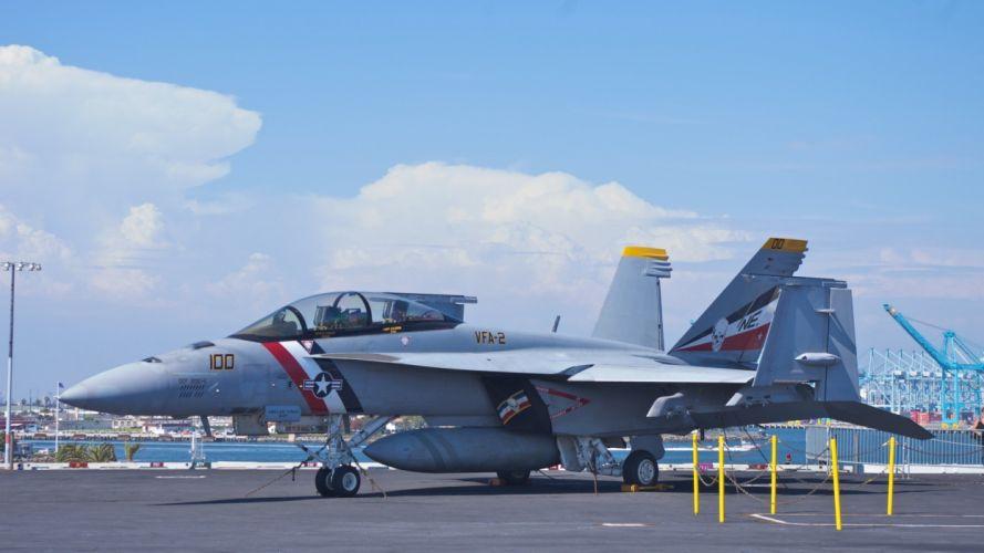 ocean military US Navy ships navy F-18 united fighter jets sea wallpaper