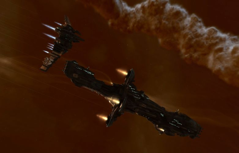 outer space EVE Online spaceships vehicles wallpaper