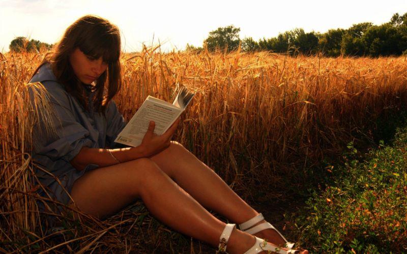 brunettes legs women books plains wallpaper