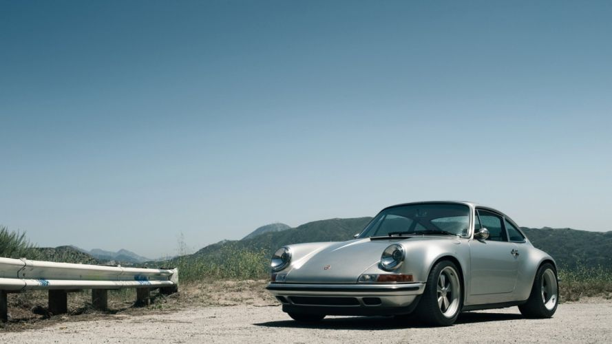 cars vehicles skyscapes Porsche 911 SpeedHunters_com Singer 911 wallpaper