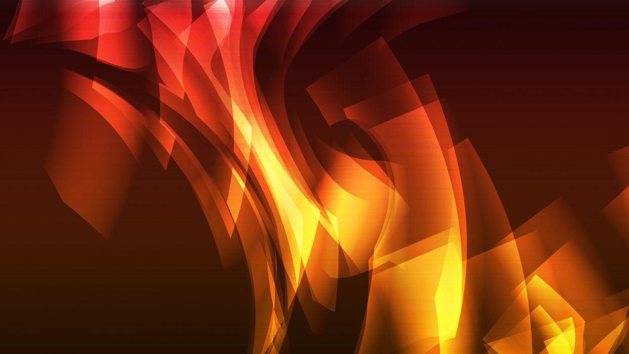 abstract multicolor vectors artwork graphics Ember  wallpaper