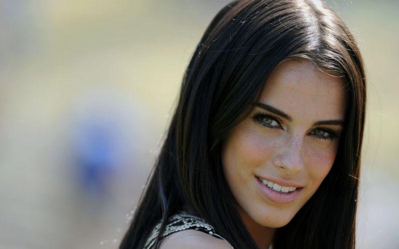 women actress freckles green eyes Goddess Jessica Lowndes wallpaper