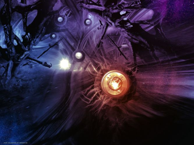 abstract lights wallpaper