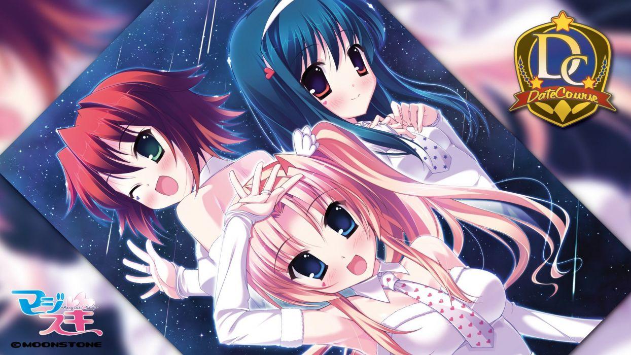 visual novels Marginal Skip Misagiri Kanade wallpaper