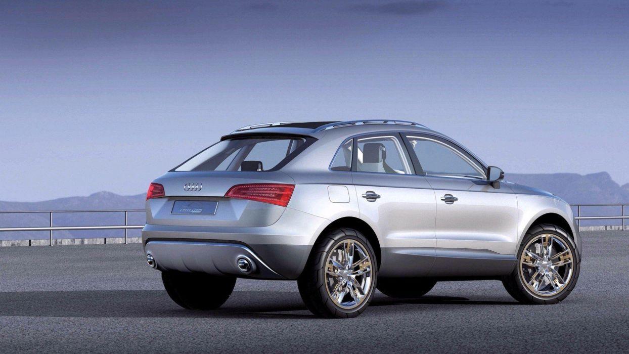 cars Audi rear angle view wallpaper