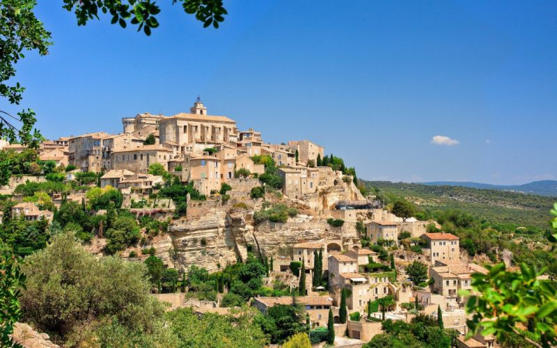 cityscapes France cities Gordes wallpaper