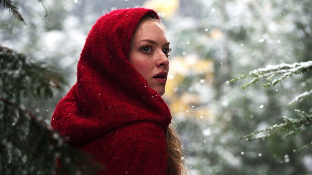 blondes women actress Amanda Seyfried Red Riding Hood (movie) wallpaper