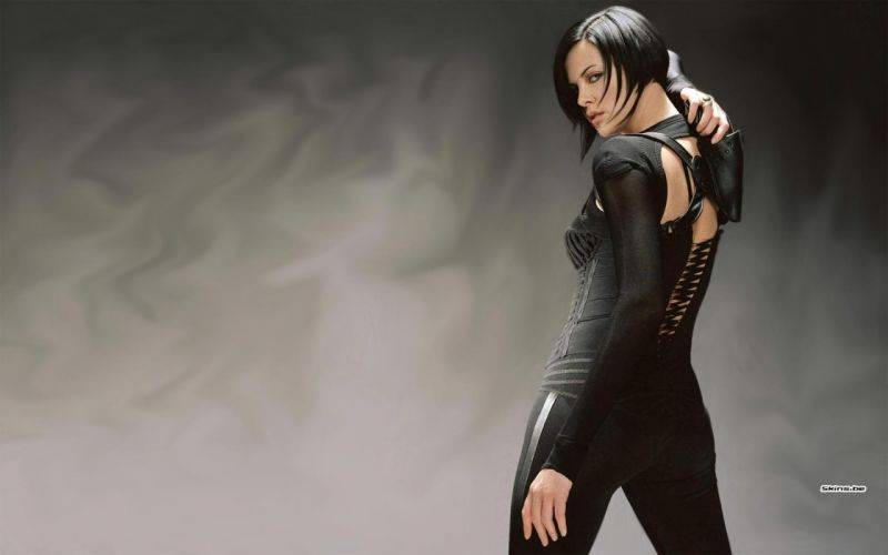 women actress Charlize Theron catsuits Aeon Flux wallpaper