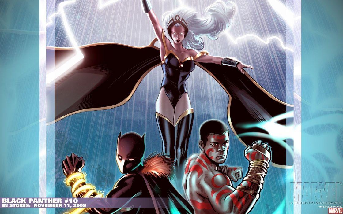 Black Panther Comics Marvel Comics Ororo Munroe Storm Comics